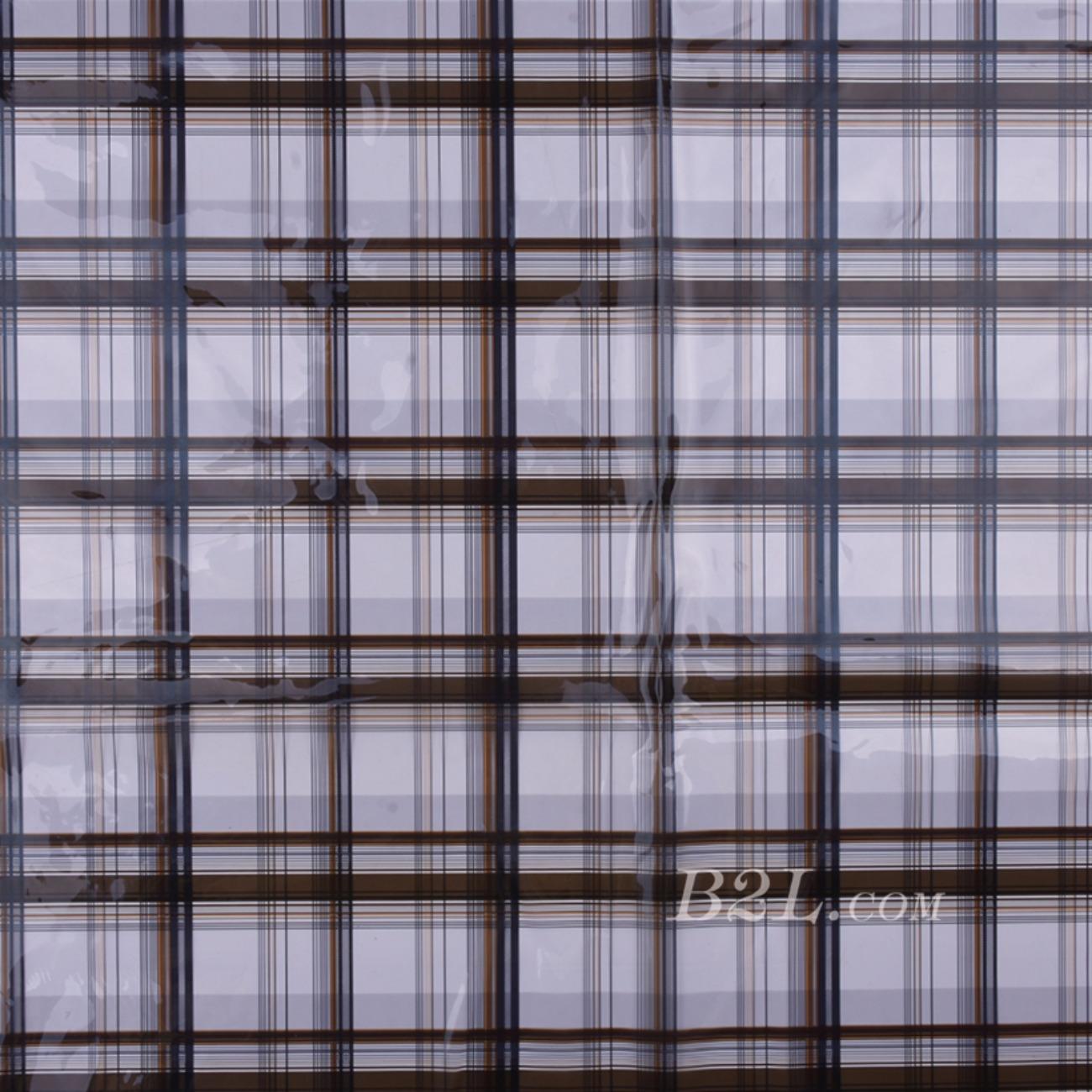印花 PU  胶 格子 雨衣 外套 包包 80517-57