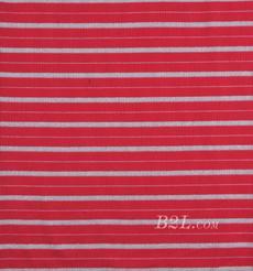 条纹 针织 横条 银丝 高弹 棉感 春秋 T恤 针织衫 连衣裙 80905-9