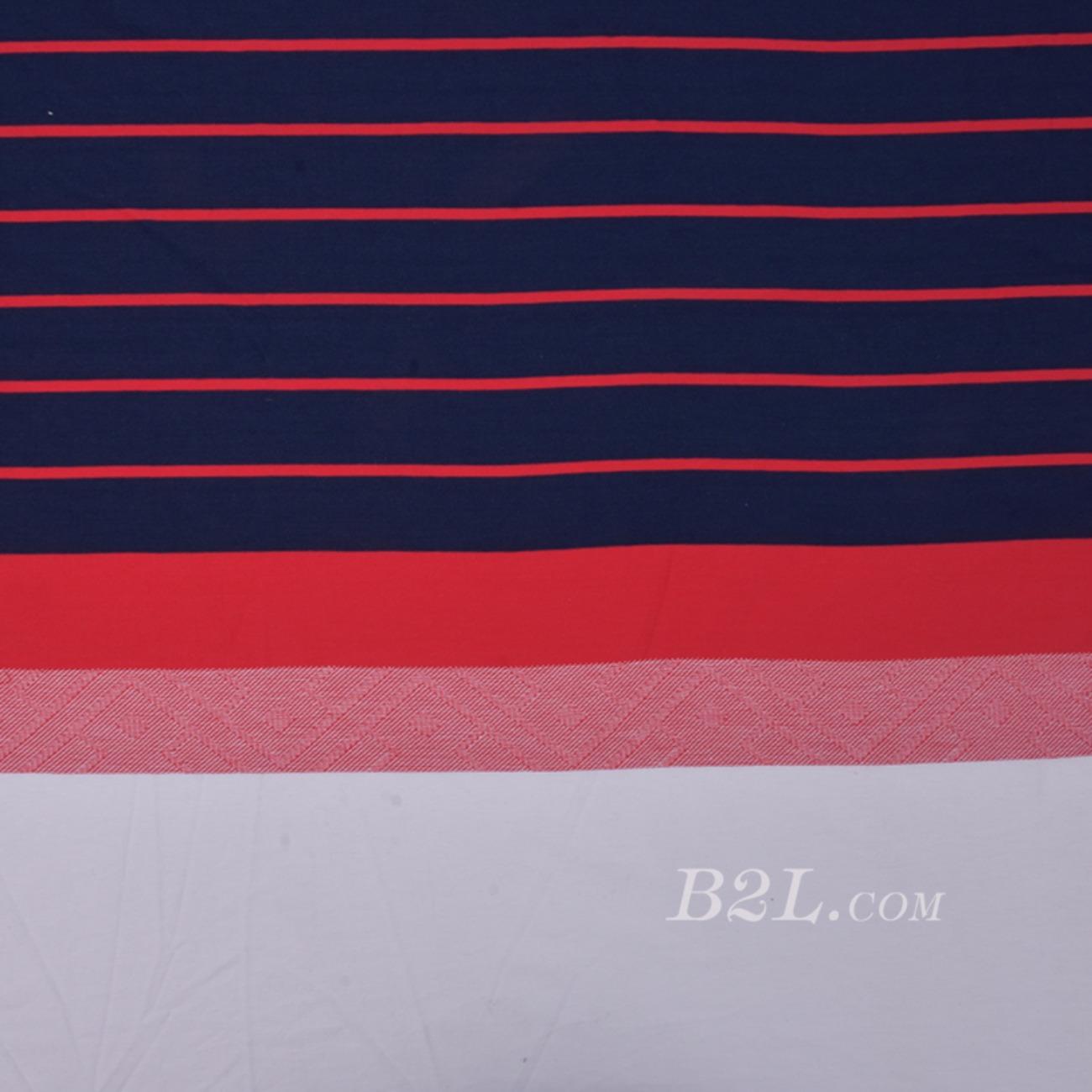 期货 针织 提花 单面 条子 高弹 棉感 连衣裙 T恤 女装 80509-11