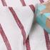 针织染色圆机弹力横条纹罗纹面料-春夏秋针织衫T恤连衣裙面料60312-86