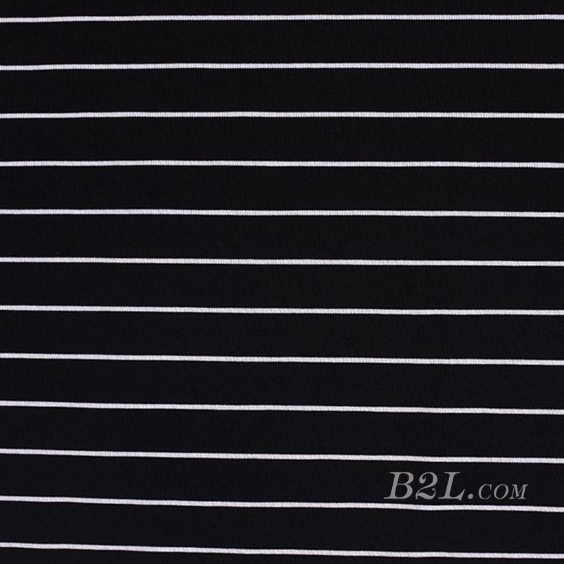 针织染色圆机罗纹条纹面料-春秋冬款连衣裙休闲服针织衫面料60312-13