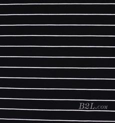 条子 横条 圆机 针织 纬编 T恤 针织衫 连衣裙 棉感 弹力 罗纹 期货 60312-13