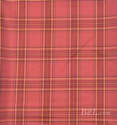 梭织染色格子面料-春秋衬衫外套半身裙面料 90912-19