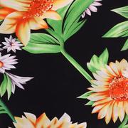 人棉期貨花朵梭織印花無彈襯衫連衣裙 短裙 薄 棉感 70522-65