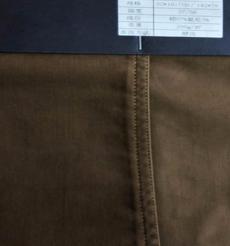 97%棉3%氨綸梭織碳刷磨毛染色布