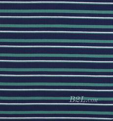 条纹 针织 横条 高弹 棉感 春秋 T恤 针织衫 连衣裙 80905-35