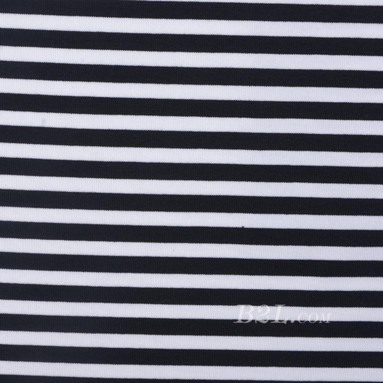 条子 横条 圆机 针织 纬编 棉感 弹力  T恤 针织衫 连衣裙 男装 女装 80131-42