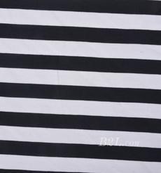 条子 横条 圆机 针织 纬编 棉感 弹力  T恤 针织衫 连衣裙 男装 女装 80131-39