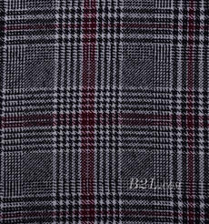 千鳥格 呢料 柔軟 羊毛 大衣 外套 女裝 70623-11
