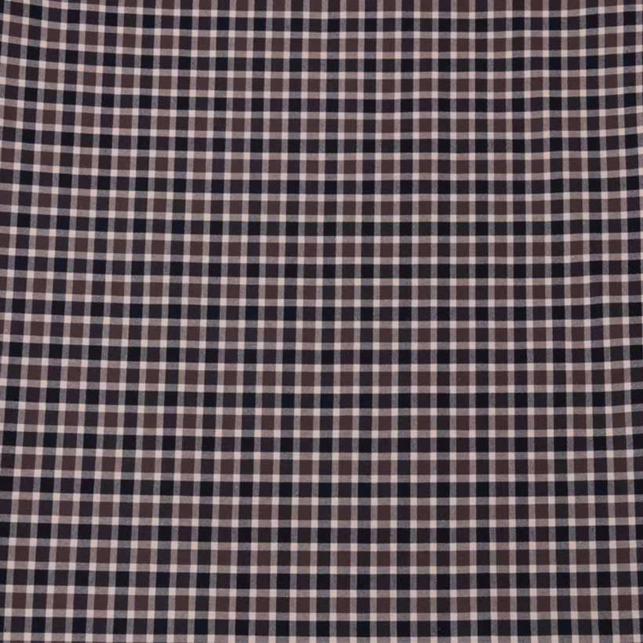 格子 色織 休閑時尚格 現貨 梭織 低彈 襯衫 連衣裙 短裙 棉感 60929-8