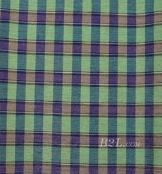 格子 棉感 色織 斜紋 外套 上衣 70622-212