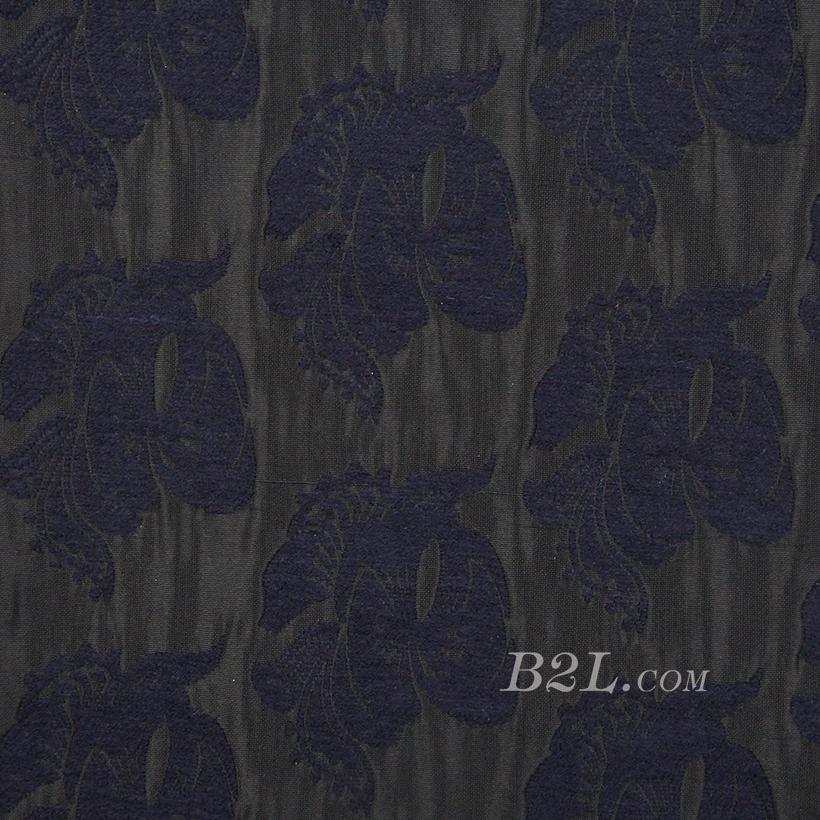 梭织 提花 色织 花朵 无弹 连衣裙 外套 春秋 71202-16
