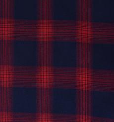 斜纹 格子 梭织 色织 无弹 衬衫 外套 连衣裙 柔软 细腻 棉感 男装 女装 春秋 期货 70410-83