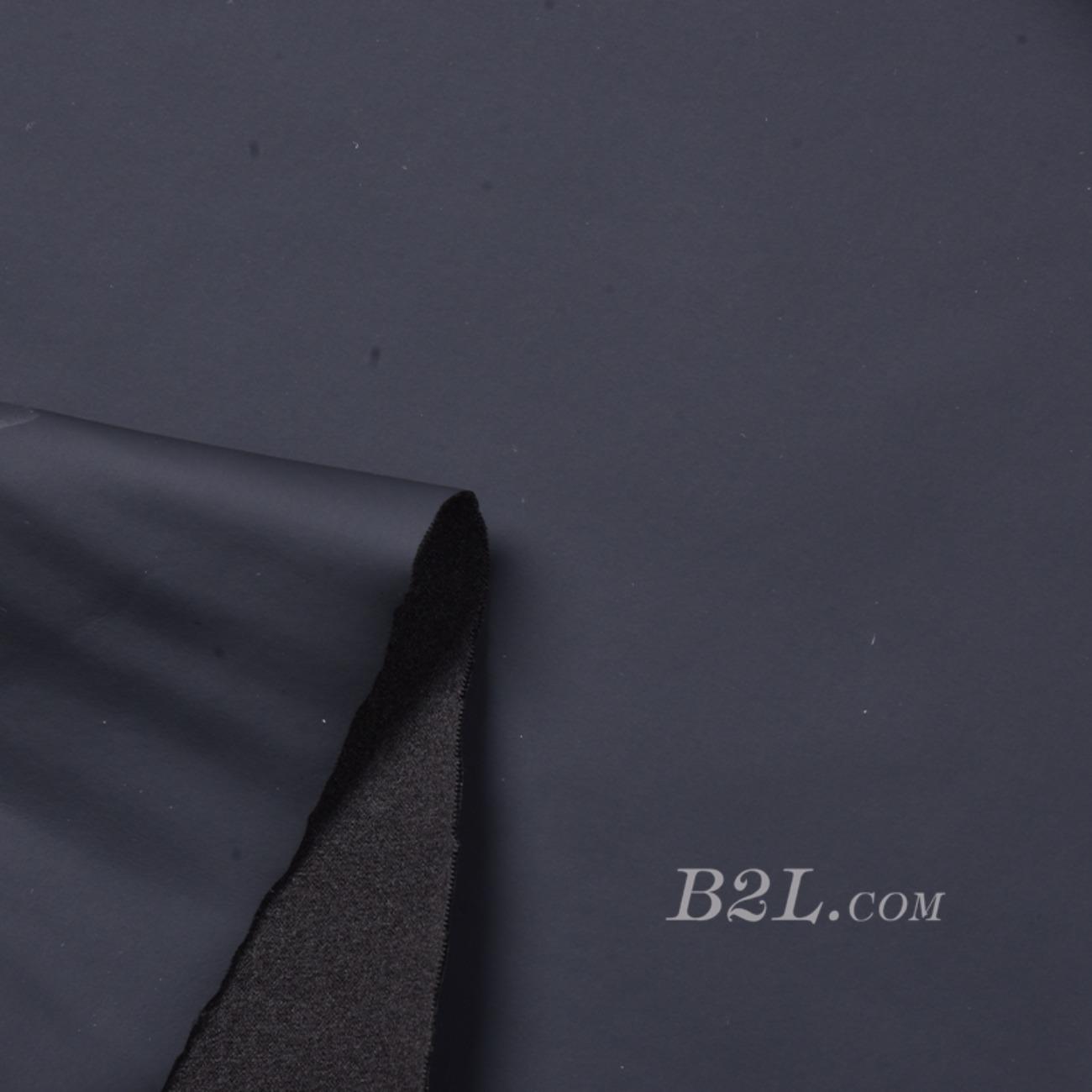 梭织染色皮革面料-春秋裤装半身裙外套面料91115-27