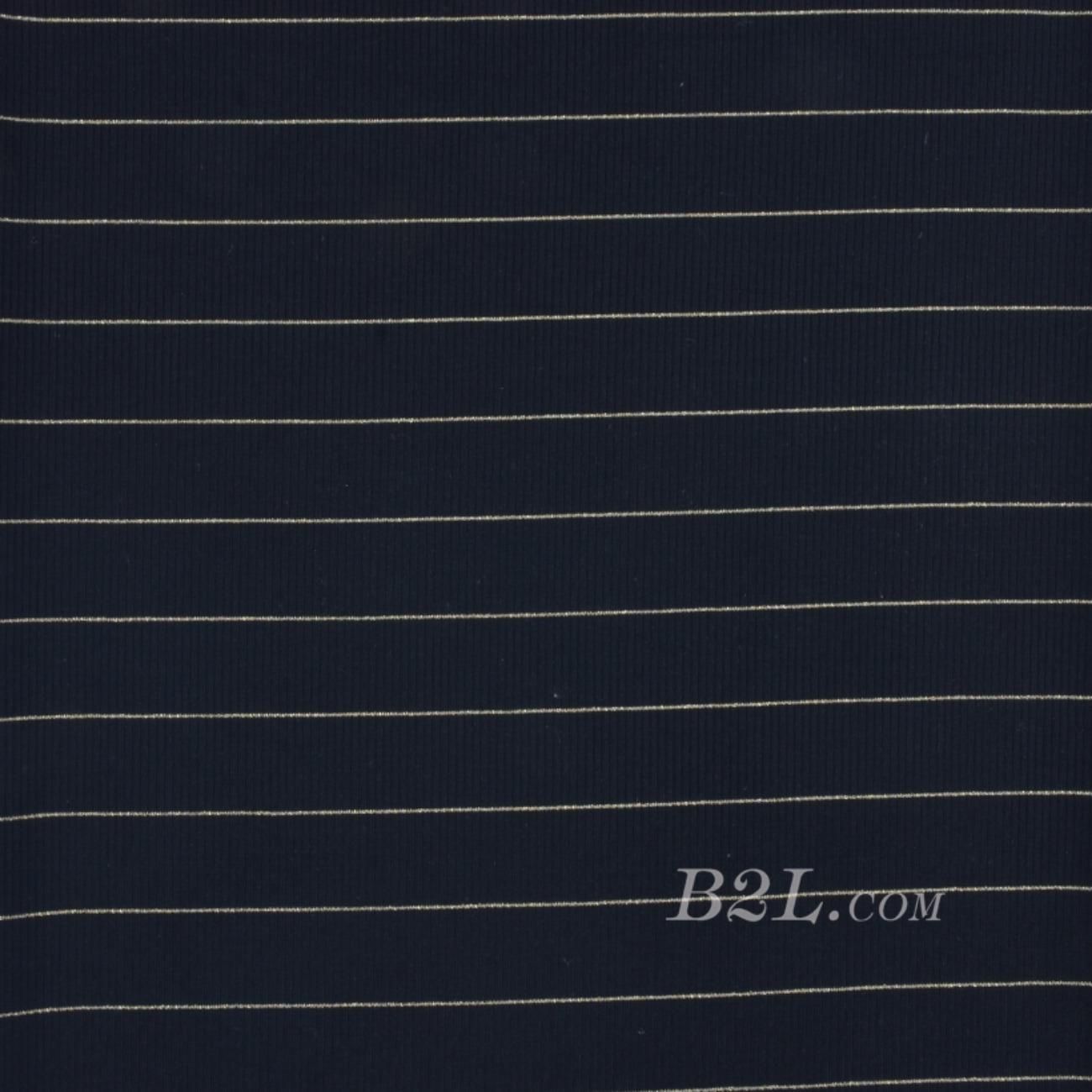 条纹 针织 横条 金丝 高弹 棉感 春秋 T恤 针织衫 连衣裙 80905-12