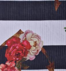 条纹 期货 花朵 梭织 印花 连衣裙 衬衫 短裙 薄 女装 春夏 60621-100