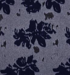 花朵 呢料 柔軟 羊毛 大衣 外套 女裝 70315-29