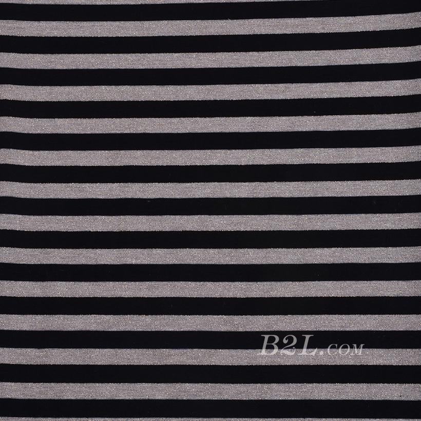 条纹 棉感 提花 平纹 连衣裙 外套 上衣 60701-25