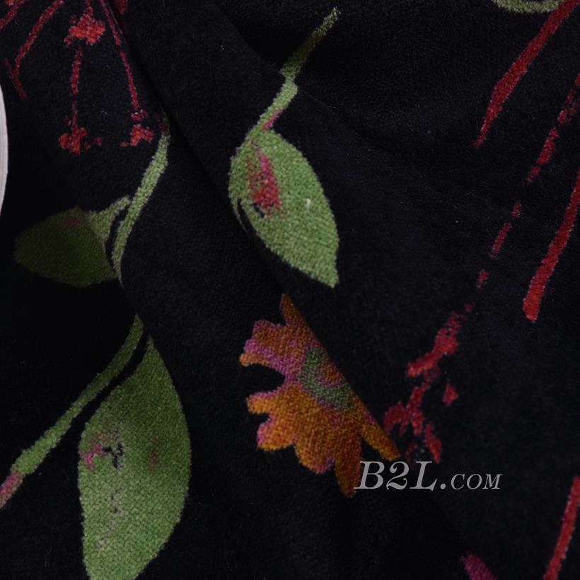 花朵 棉感 印花 平纹 外套 连衣裙 上衣 短裙 60625-1