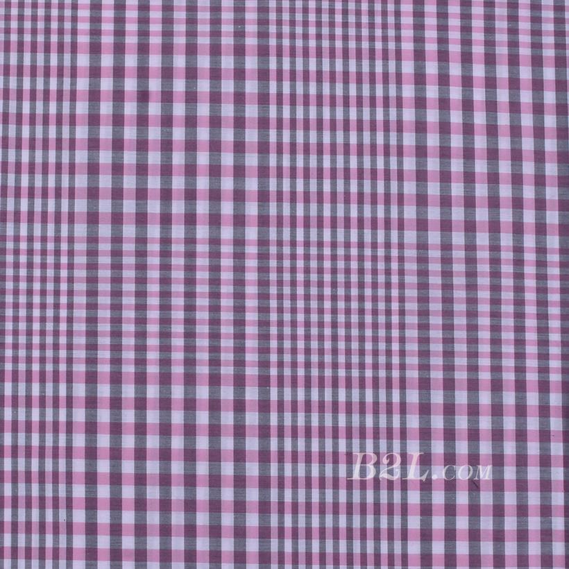 现货 梭织 色织 格子 几何 无弹 春秋 女装 连衣裙 外套 套装80108-71