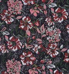 提花 梭织 色织 花朵 银线 无弹 春夏秋 礼服 连衣裙 外套 女装 80408-10