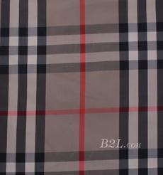 格子 棉感 色织 平纹 外套 衬衫 上衣 薄 70622-111