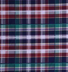 格子 色织 休闲时尚格 现货  梭织 低弹 衬衫 连衣裙 短裙 棉感 60929-30