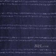 條紋 呢料 柔軟 羊毛 大衣 外套 女裝 70814-1