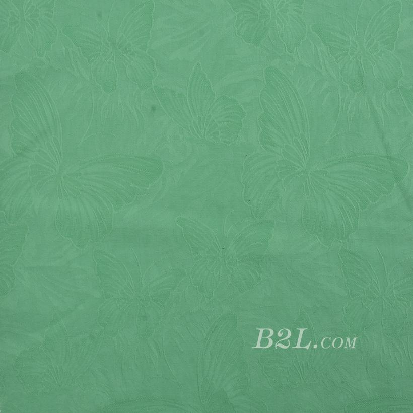 现货 梭织 染色 花朵 提花 无弹 春秋 女装 连衣裙 外套 衬衫80104-38
