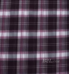 格子 棉感 色織 斜紋 外套 襯衫 上衣 70622-211