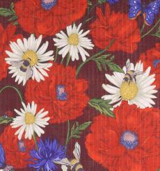 花朵 期货 梭织 印花 连衣裙 衬衫 短裙 薄 女装 春夏 60621-101