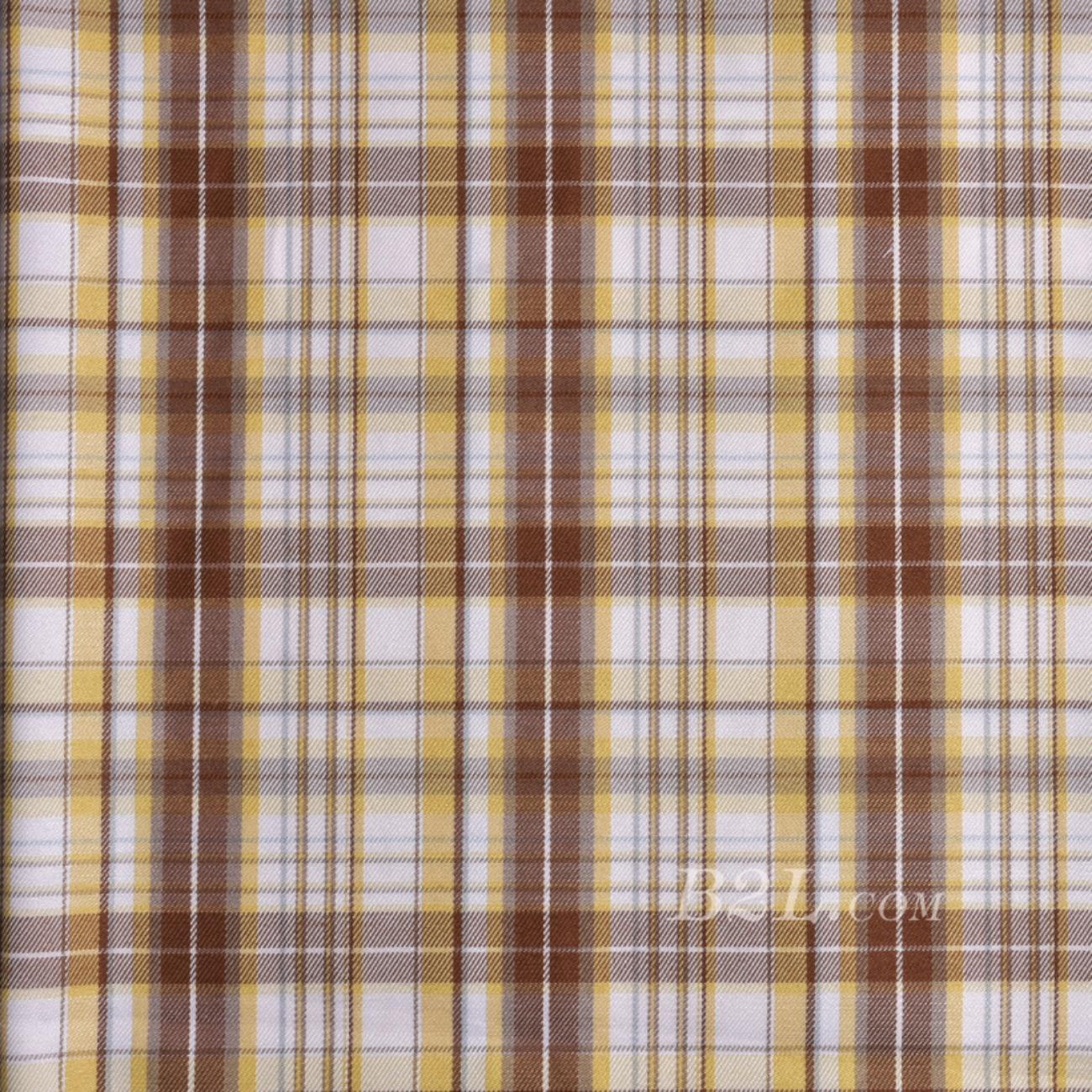 格子  梭织 染色 春夏 衬衫 外套 女装 连衣裙 90910-5