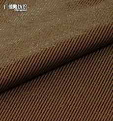 广德隆TJ287 涤氨弹力绒秋冬保暖斜纹烫金面料 家庭装饰桌布台布套罩 礼服裙子裤子外套紧身裤上衣