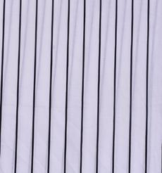 人棉期货条纹梭织印花无弹衬衫连衣裙 短裙 薄 棉感70522-38