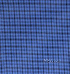 格子 棉感 色织 平纹 外套 衬衫 上衣 70622-5