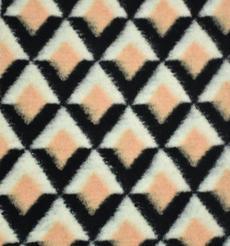 幾何 提花 呢料 柔軟 羊毛 大衣 外套 女裝 60803-59