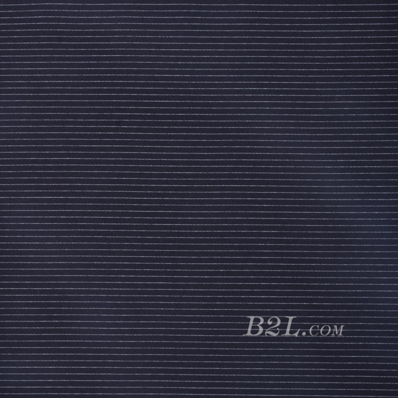 圓機緯編針織橫條棉感彈力條子 —T恤針織衫連衣裙期貨60311-48