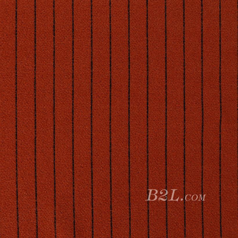 蜈蚣纱 针织 条纹 低弹 细腻 柔软 大衣 外套 女装 秋冬 70828-7