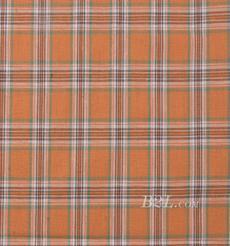格子 梭织 色织 无弹 春秋 衬衫 女装 时装 90826-19
