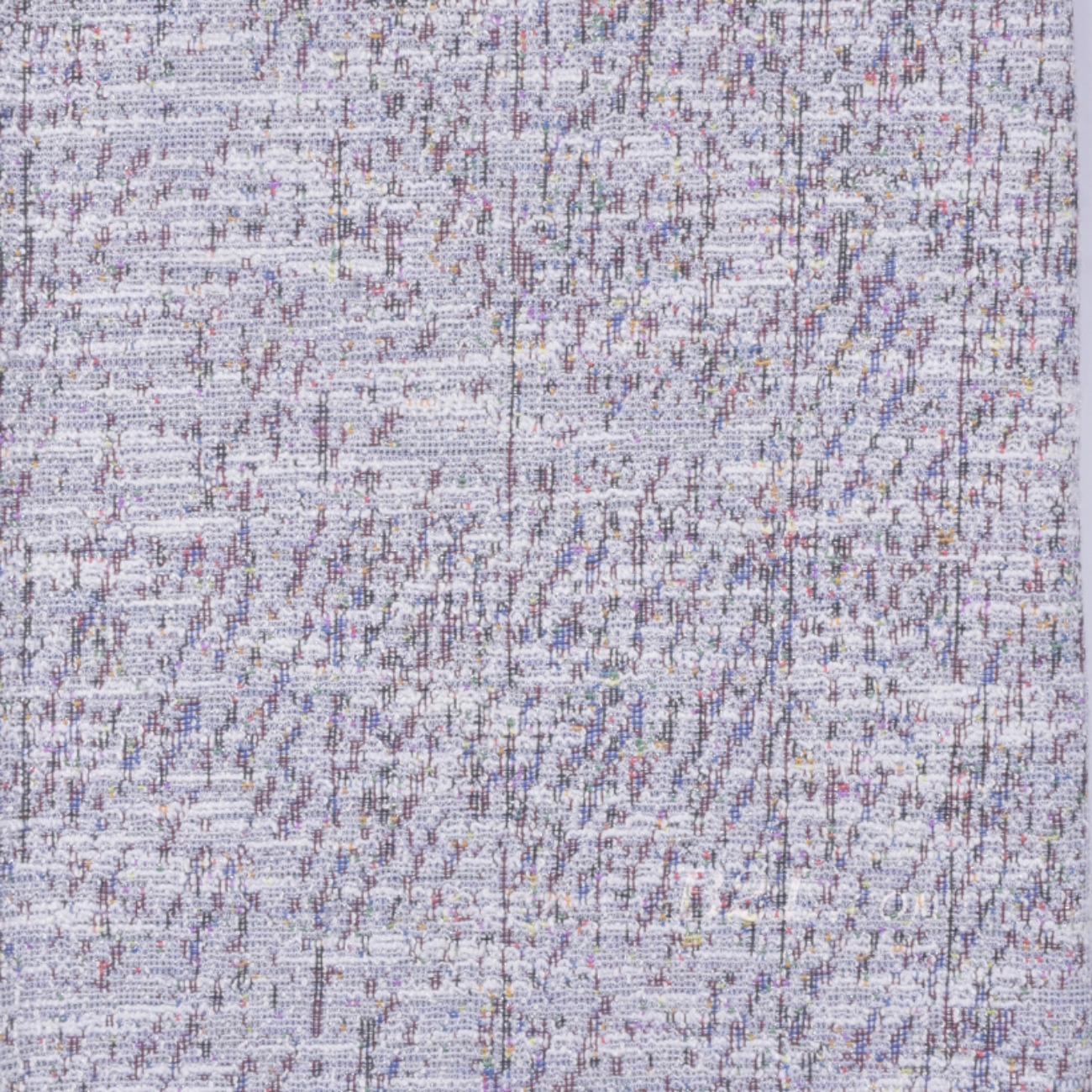毛纺 针织 染色 低弹 小香风 香奈儿风 秋冬 大衣 时装 女装  90729-10
