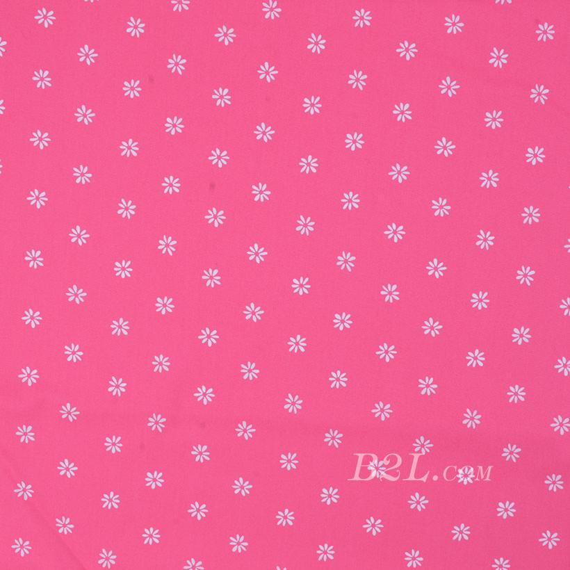 期货 印花 全棉 梭织 棉感 花朵 低弹 薄 连衣裙 衬衫 四季 女装 童装 80302-37