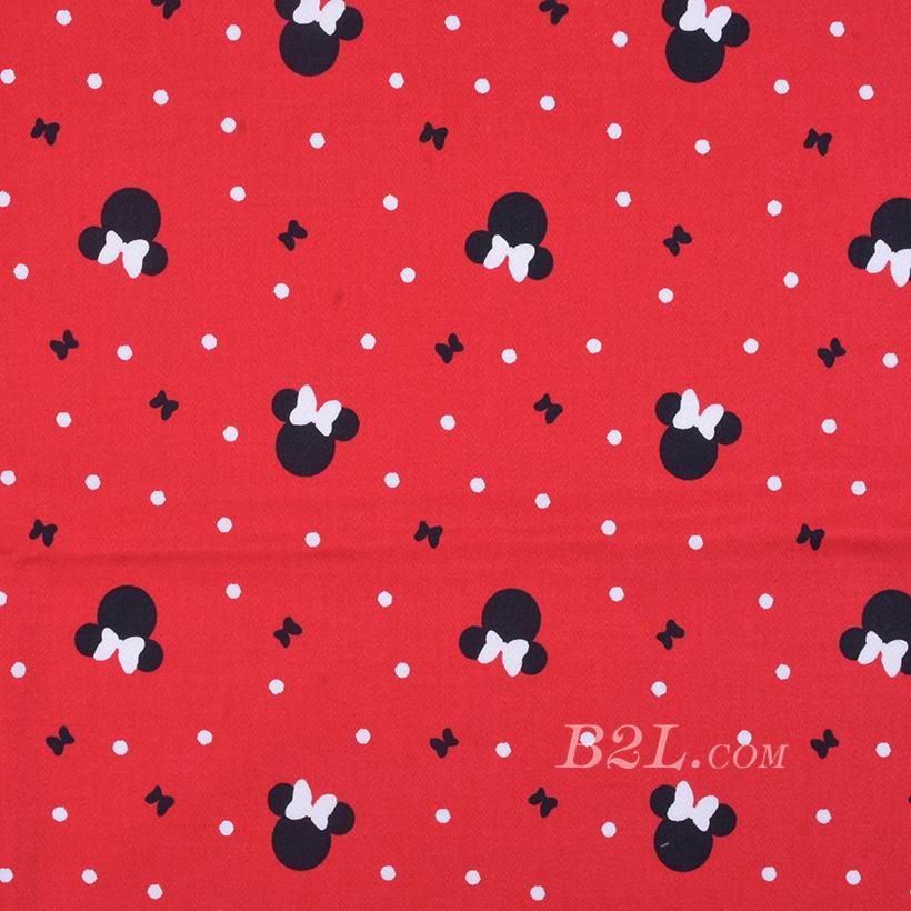期货 印花 梭织 米老鼠 高弹 连衣裙 衬衫 四季 女装 童装 80302-48