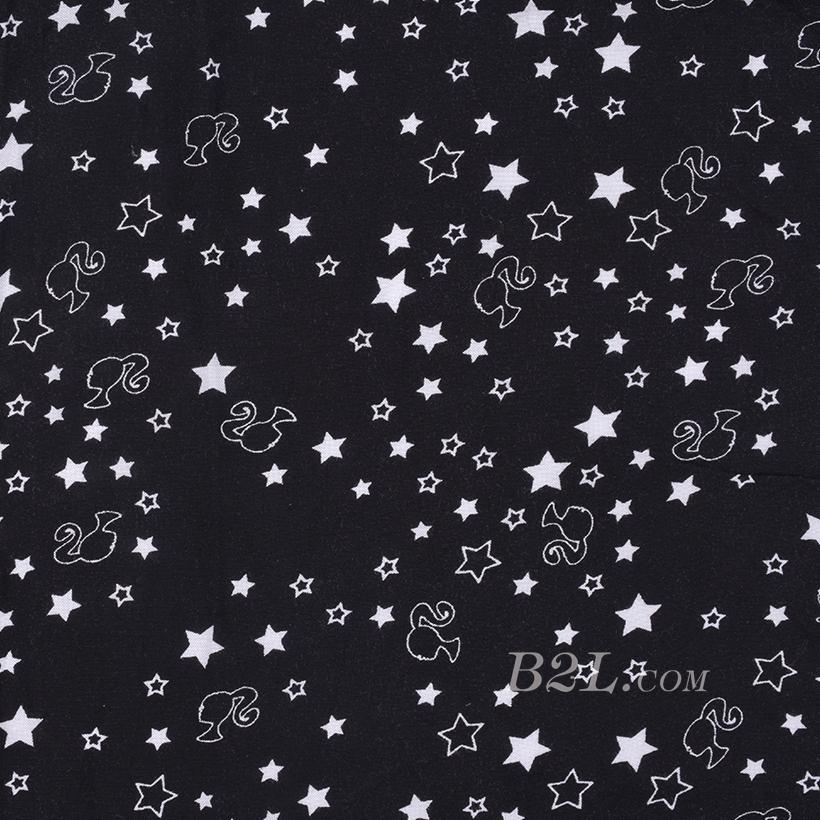 期货 印花 全人棉 梭织 星星 棉感 低弹 薄 连衣裙 衬衫 四季 女装 童装 80302-23