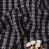 粗花呢 格子 毛呢 粗纺 梭织 色织 提花 香奈儿风 无弹 外套 西装 短裤 柔软 粗糙 绒感 女装 春秋冬 70820-3