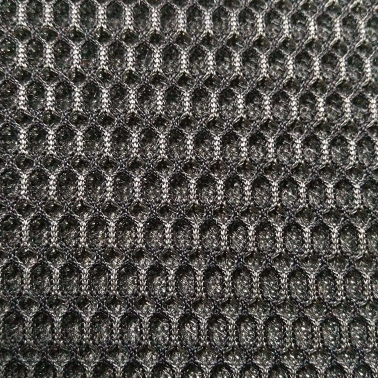 大六角形网格三明治网眼布料