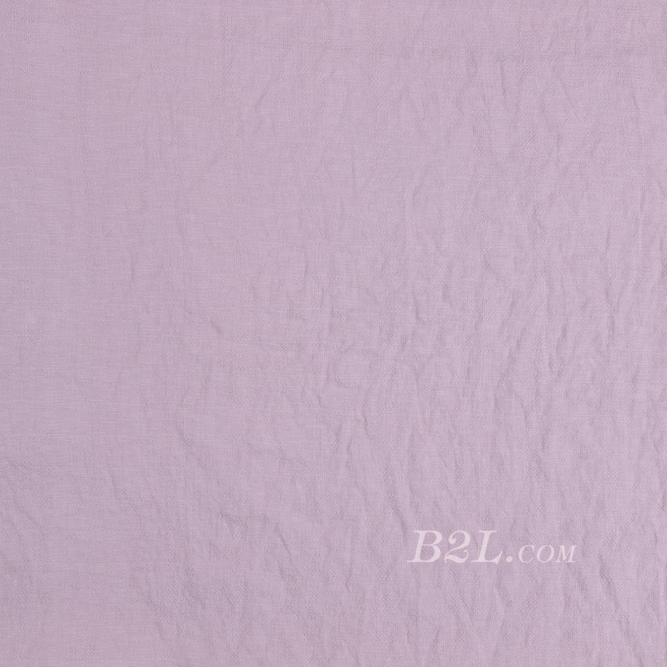 梭織素色無彈面料平紋染色布—麻感春秋連衣裙短裙薄襯衫70703-17