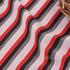 现货 针织 色织 条纹 罗纹 高弹 春秋 女装 连衣裙  80110-16