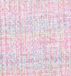 毛纺 粗纺 格子 粗花呢 提花 色织 无弹 香奈儿风 粗糙 秋冬 大衣 外套 女装 80907-11