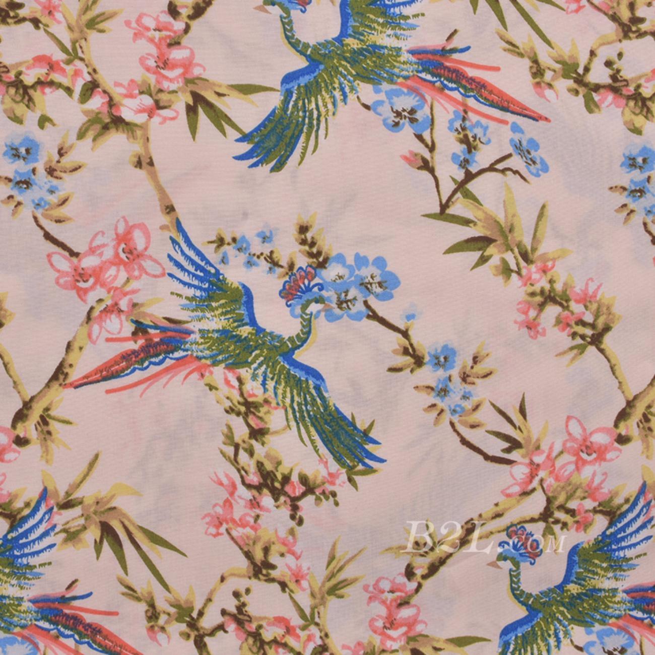 现货  印花 花朵 梭织 薄 无弹 棉感 连衣裙 衬衫 71220-1