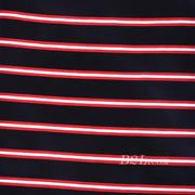 楼梯布 坑条 条子 横条 圆机 针织 纬编 T恤  连衣裙  针织衫 棉感  弹力 期货 60311-5